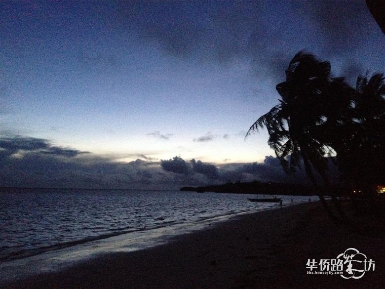神秘的大海夜景(上)