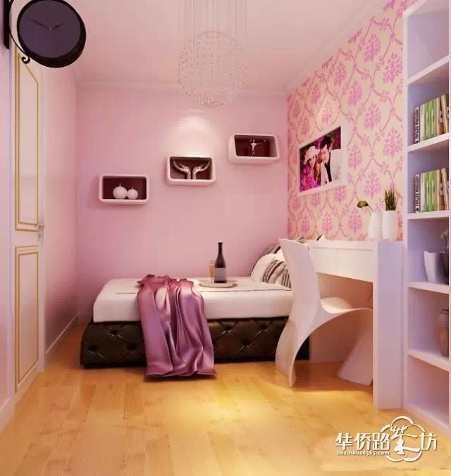 现代80平米小户型婚房卧室装修效果图大全2012图片