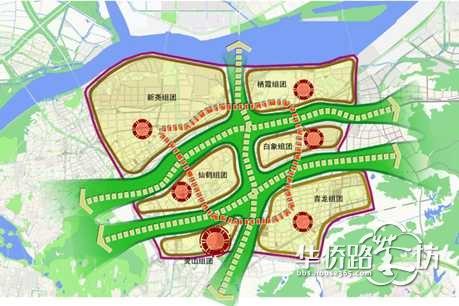 【片区规划】南京市仙林副城总体规划(2010~2030)