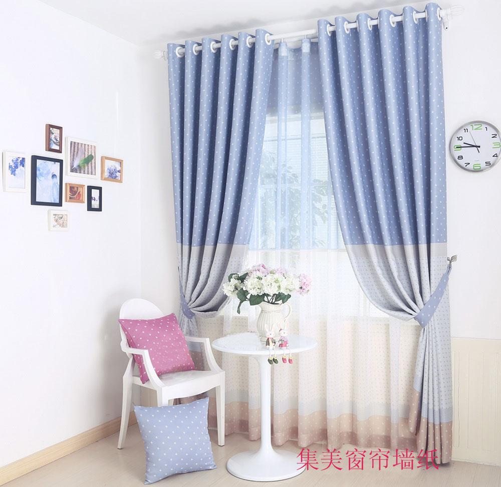 集美窗帘墙纸之儿童卧室遮光窗帘-产品价格|报价