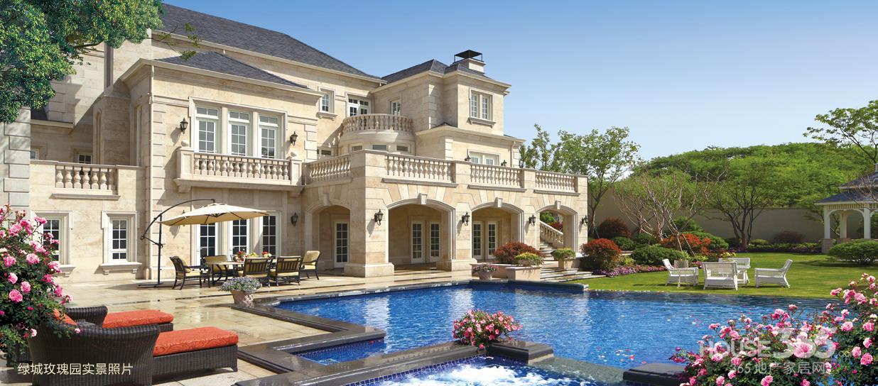 高档独栋别墅 私人游泳池 高尔夫球场 度假好地方准现房 无佣金