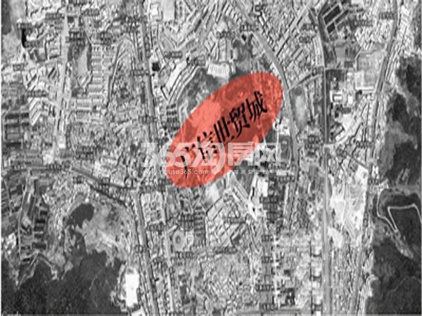 昆明路·世贸城交通图