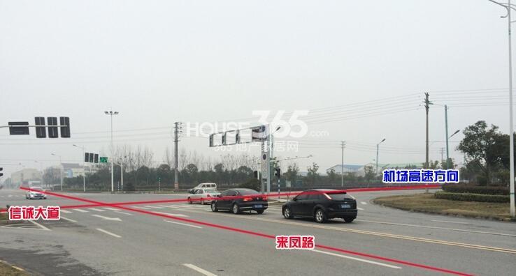 朗诗青春街区交通图