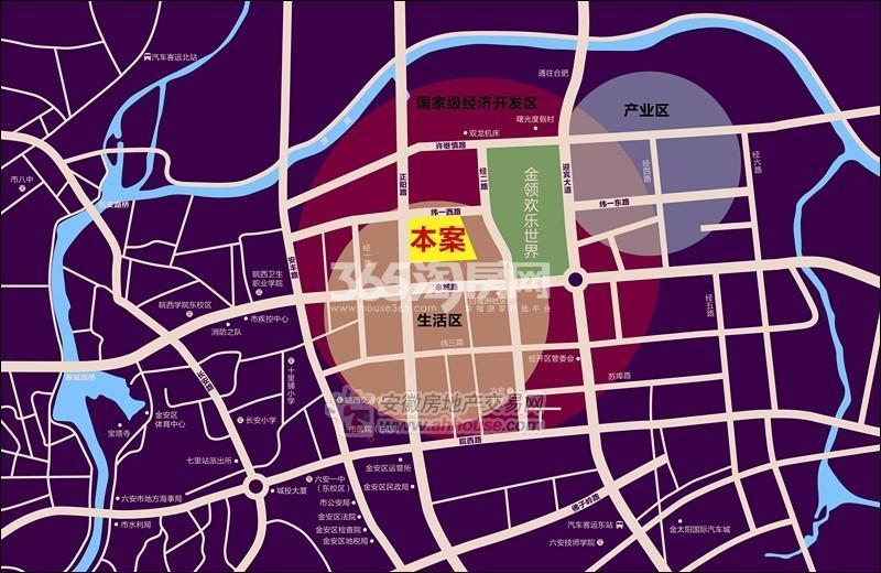 皇家御苑交通图