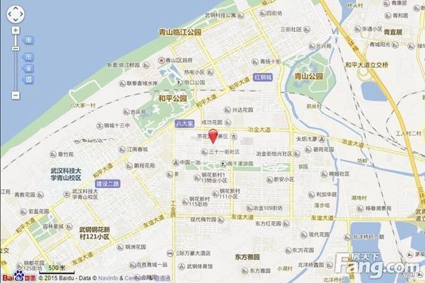 武汉恒大御府交通图