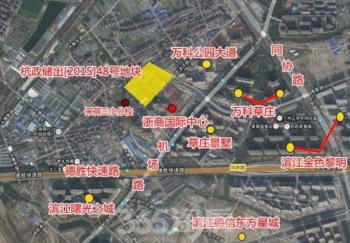 融创玖樟台交通图