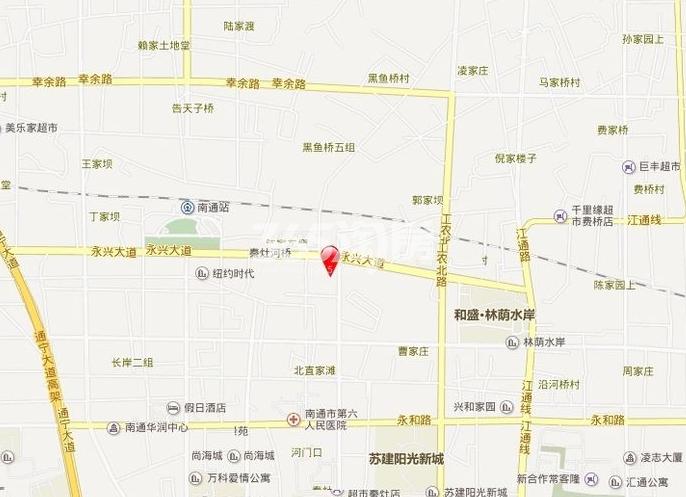 盛和九里香堤交通图
