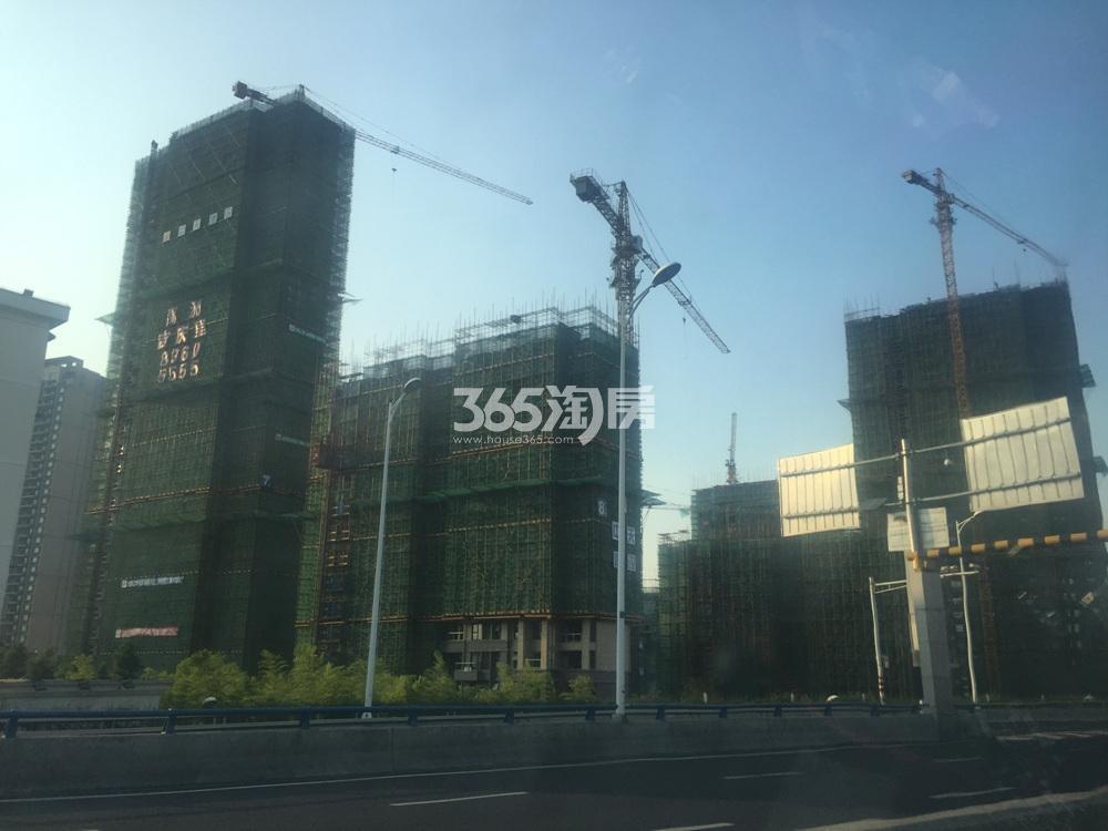禹洲吉庆里施工实景图(7.21)