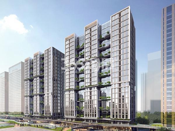 天山世界之门创业城公寓效果图