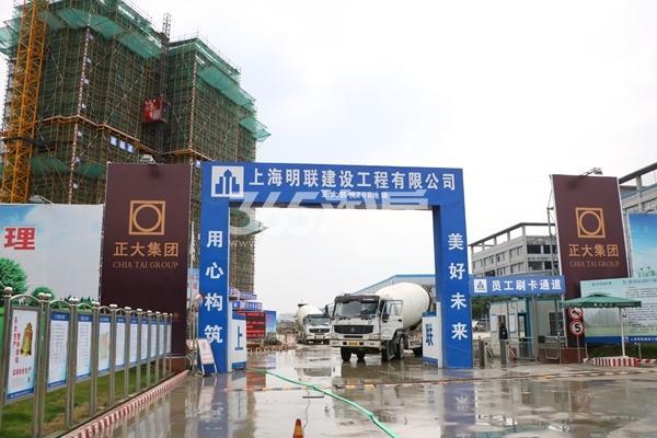 正大·万物城实景图(2017.1摄)
