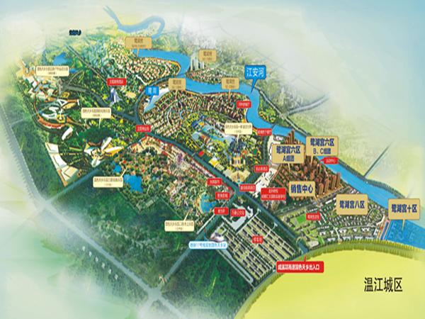 鹭湖宫8区平层小院交通图