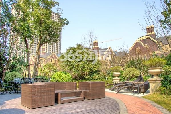 长泰国际社区小区景观实景图(2017.4摄)