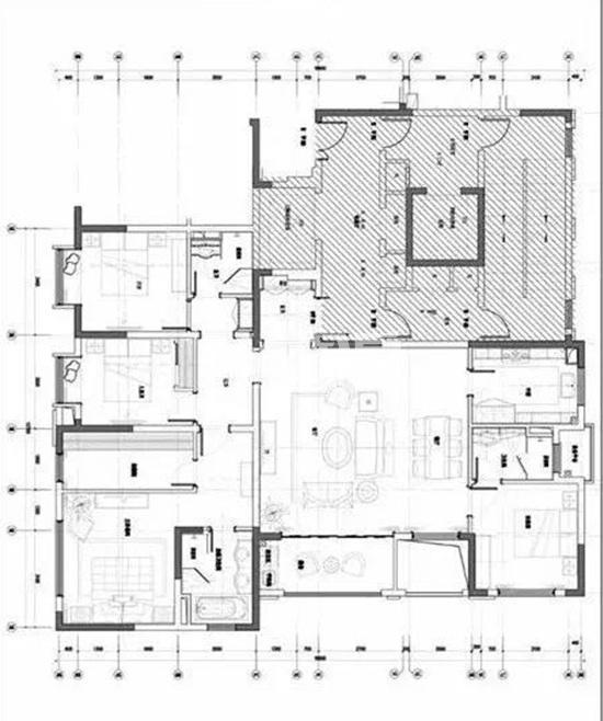 爆料图|中海桃源里项目195㎡标准层4房2厅3卫