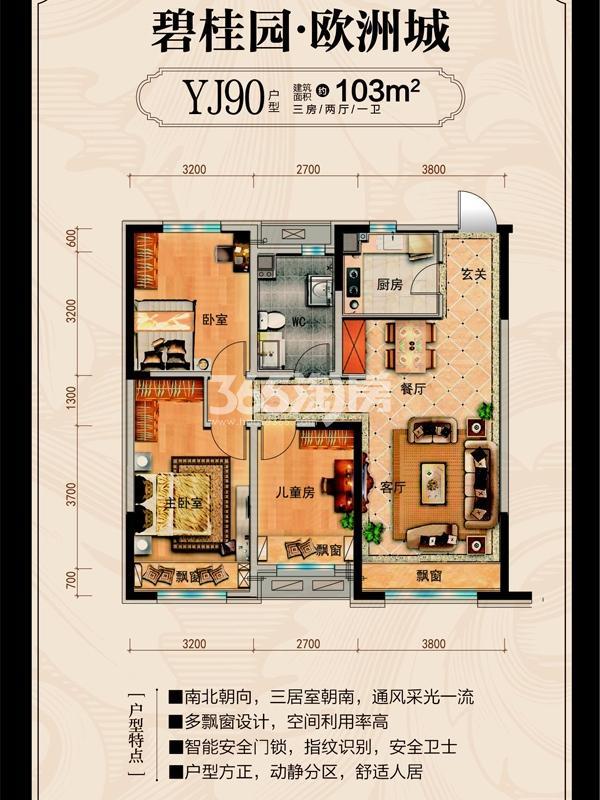 碧桂园欧洲城户型图