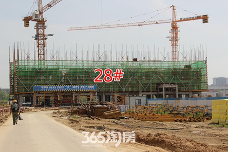 翰林公馆工程进度(2017.4摄)