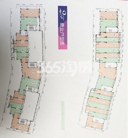 东原长岛·商铺户型图