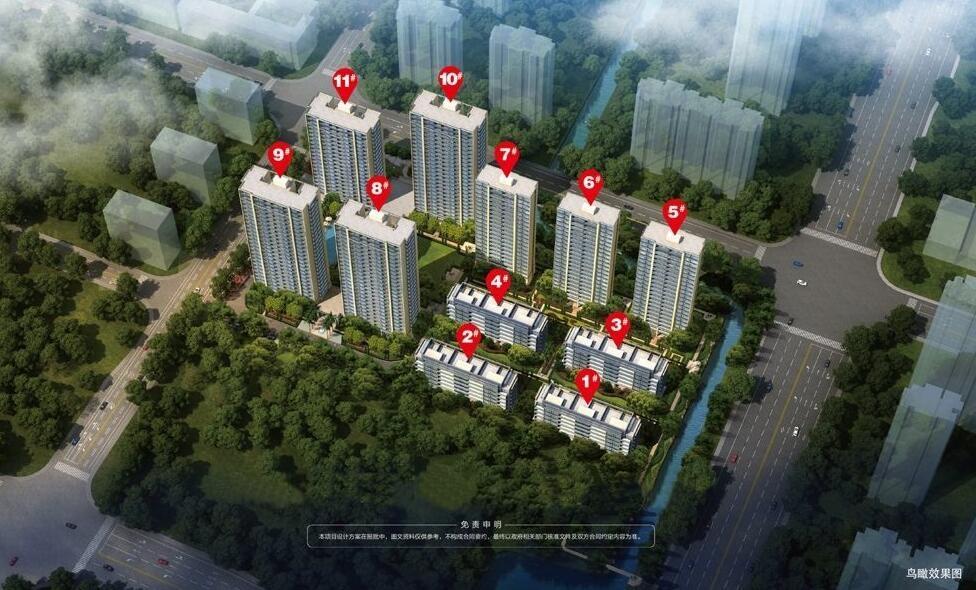绿城九龙仓桂语江南鸟瞰图