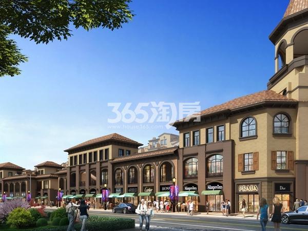 无锡阳光100阿尔勒B2星空洋房沿街商业效果图