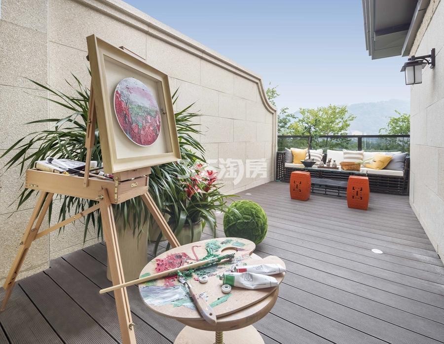 新城香悦公馆P1户型图150方样板房——三层露台