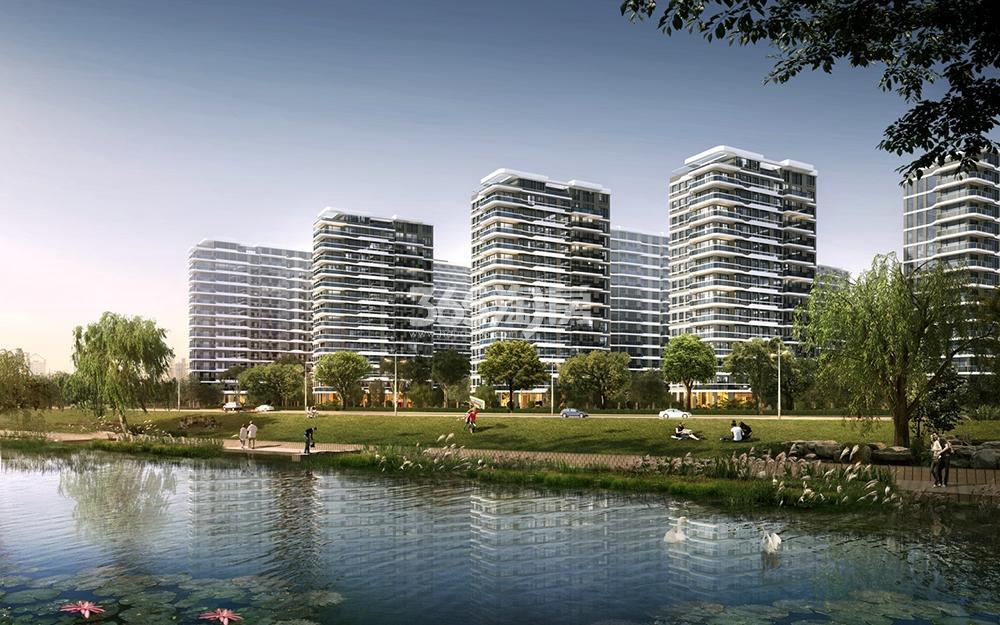 阳光城未来悦沿河景观效果图