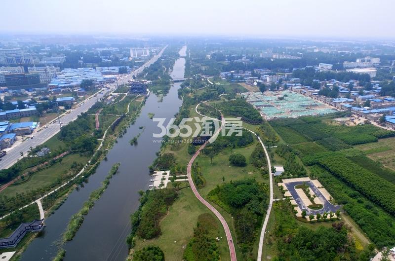 七渔河风景带