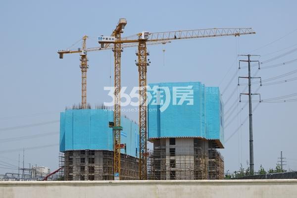 启迪协信无锡科技城A地块工程实景图(2017.6摄)