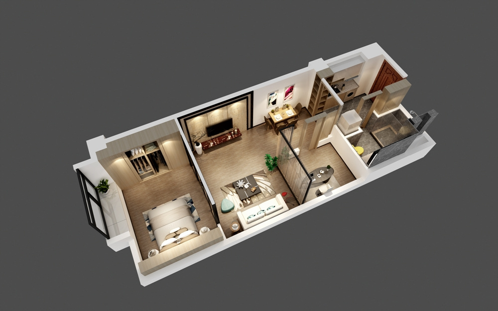 紫金华府公寓户型图