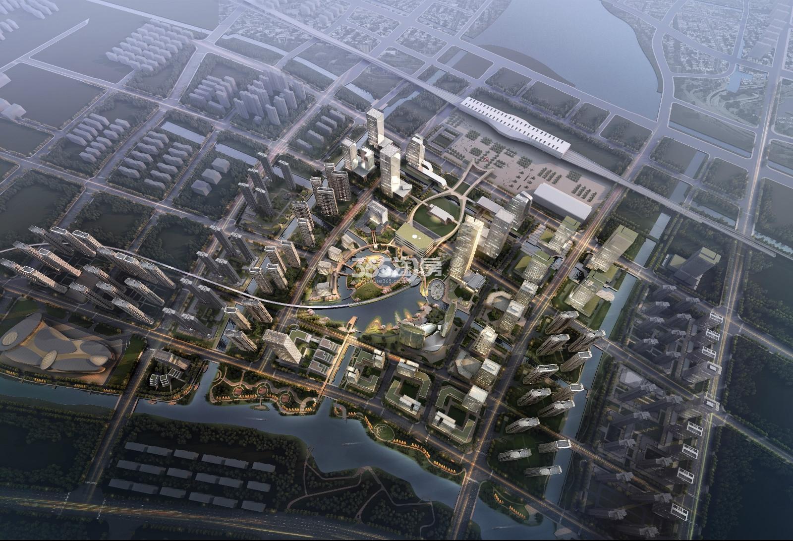 MOC芯城汇鸟瞰图