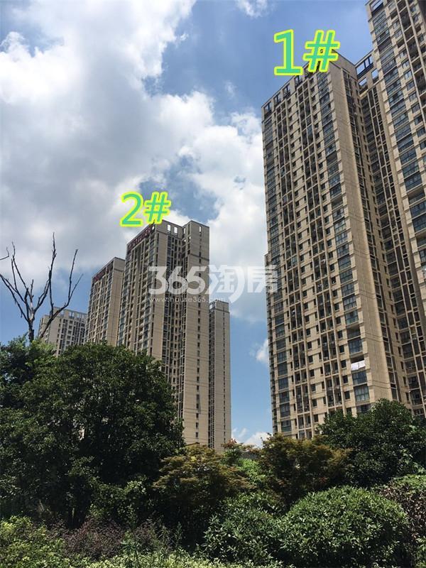 东方万汇城北区1、2号楼实景图(9.7)