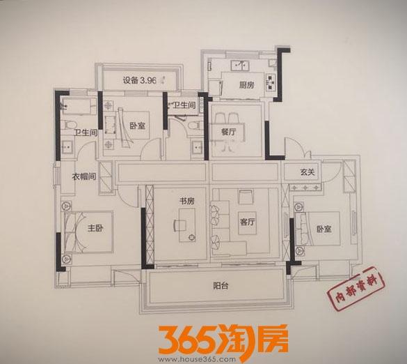 望江台132㎡户型