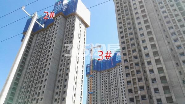 荣盛花语城二期云锦2-3#工程实景图(9.14)